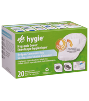 Hygie bedpan-toiletstoel opvangzakken