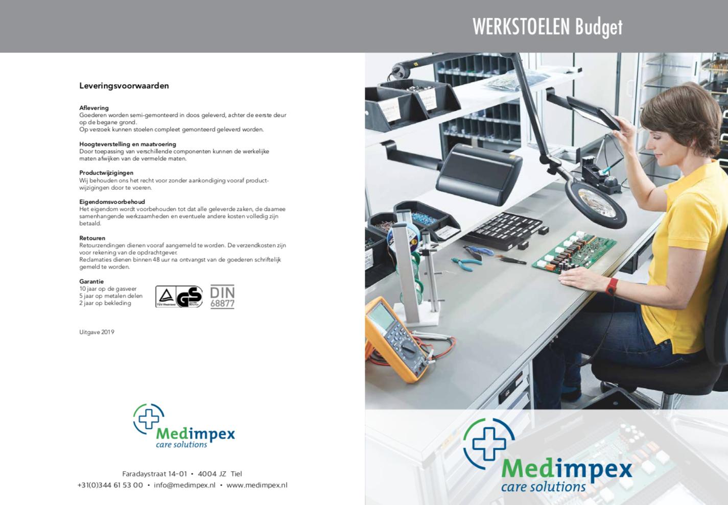 Medimpex Werkstoelen - 1