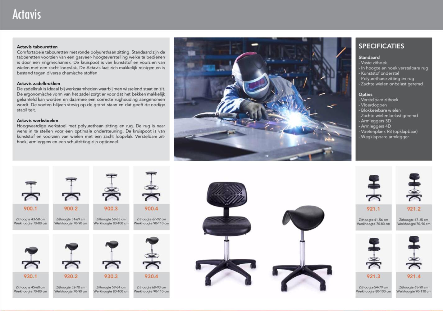 Medimpex Werkstoelen - 2