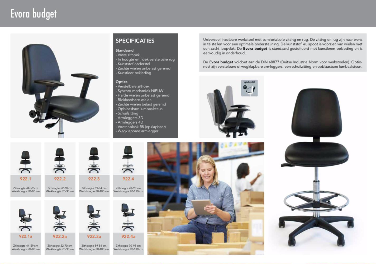 Medimpex Werkstoelen - 3