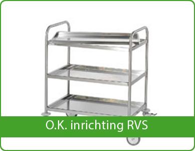 O.K. inrichting RVS