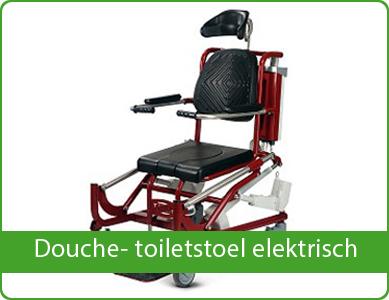 Douche- toiletstoel elektrisch
